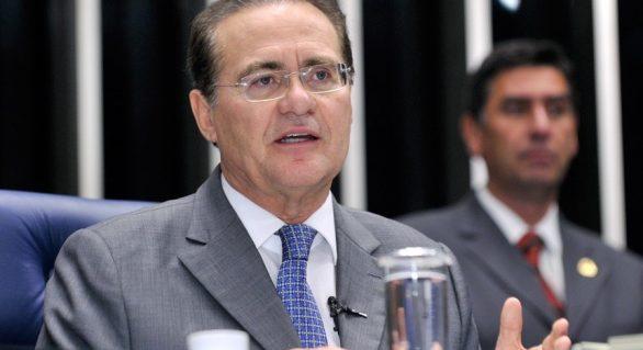 Renan resiste: até adversários defendem sua permanência na presidência do Senado