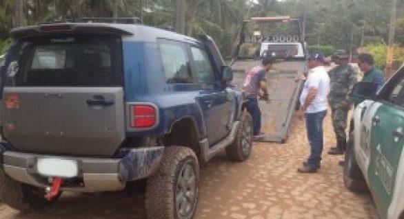 Equipe do IMA alerta sobre o tráfego de veículos em praias do Litoral Norte