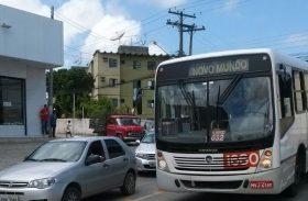 Obra no bairro do Poço desvia itinerários de ônibus