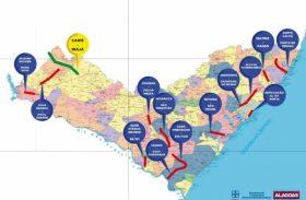 Malha rodoviária de Alagoas vai aumentar até o primeiro semestre de 2017
