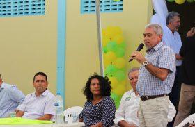 Presidente Klécio Santos comemora  inauguração de cooperativa agrícola familiar