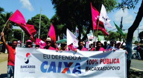 Bancários de Alagoas lançam nesta quinta-feira Campanha Nacional 2016