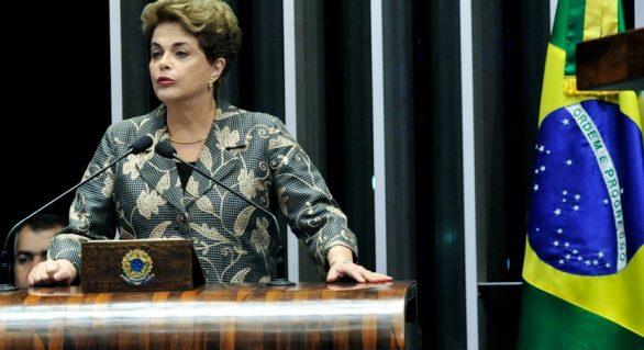 Dilma: 'receio que a democracia seja condenada junto comigo'