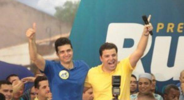 Pés no chão: Rui e Marcelo farão da caminhada principal arma da campanha