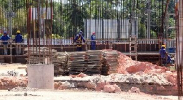Iniciada nova etapa da construção do viaduto de Jacarecica