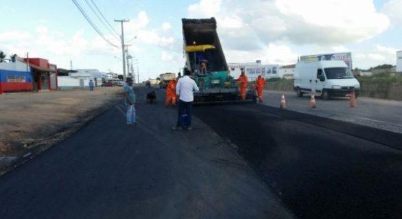 Serviços avançam nos 4 km de duplicação da AL-110, em Arapiraca