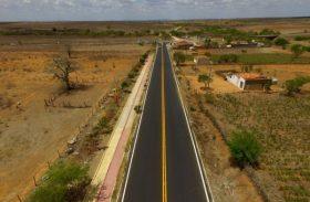 Em três meses, Pró-Estrada recuperou 35 km da malha viária estadual