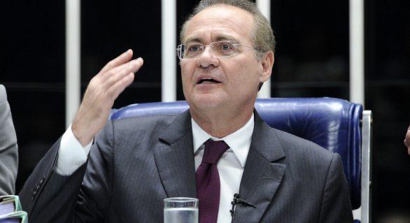 Renan Calheiros diz que está tranquilo por virar réu no STF