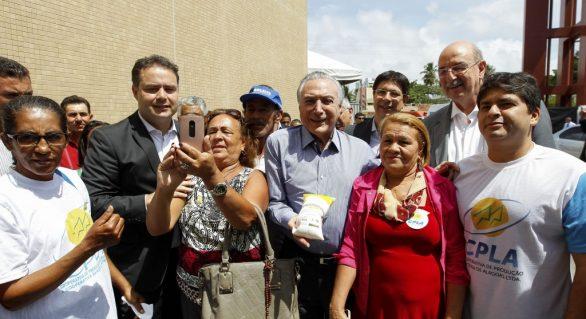 Michel Temer e ministros confirmam aditivo do Programa do Leite em AL