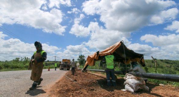 Conclusão do gasoduto Penedo-Arapiraca está prevista para o fim de 2017
