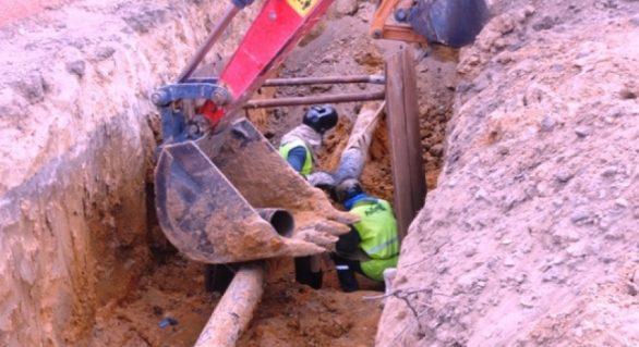 Arsal fiscaliza avanço das obras de duplicação do gasoduto Pilar-Marechal
