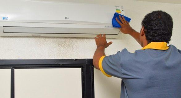 Falta de manutenção dos condicionadores de ar causa males, diz Sesau