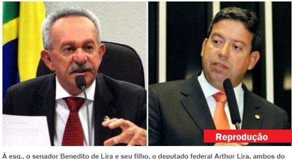 Lava Jato: Justiça bloqueia R$ 10,4 milhões Biu e Arthur Lira