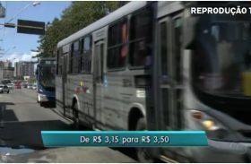 Após aumento, tarifa de ônibus de Maceió é a 2ª mais cara do Nordeste