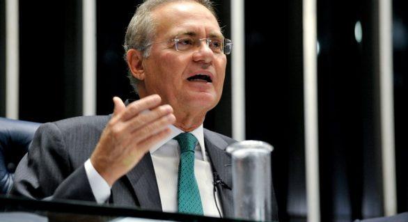 O juro no Brasil ainda é imoral, diz Renan Calheiros