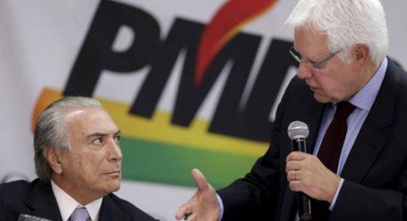 STF dá prazo de 24 horas para Temer explicar nomeação de Moreira Franco