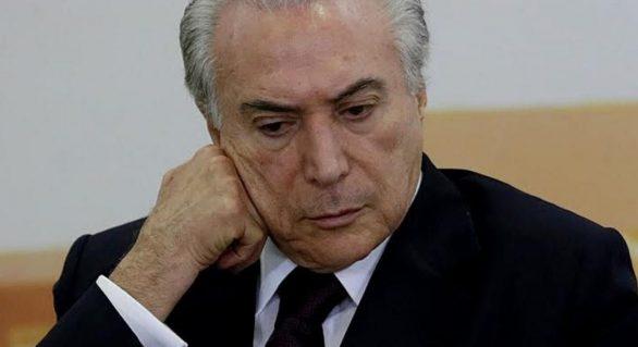 Reprovação a Michel Temer chega 67% no Nordeste e a 55% no país