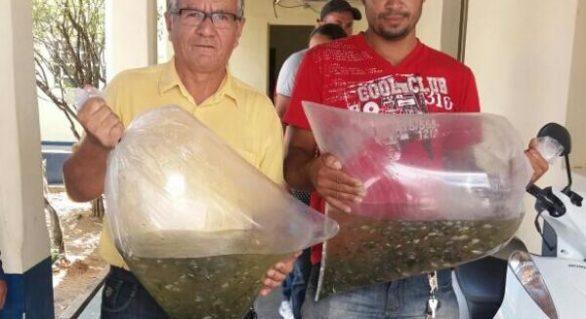 Prefeitura e Governo do Estado entregam 20 mil alevinos em Santana