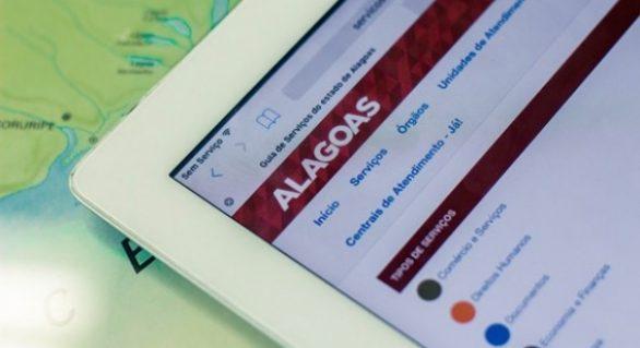 Plataforma com serviços oferecidos pelo Governo do Estado facilita a vida dos alagoanos