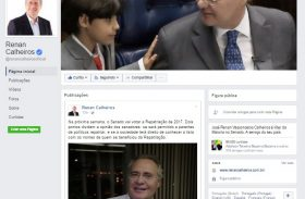 De filho para pai: Renan Calheiros aposta nas redes sociais