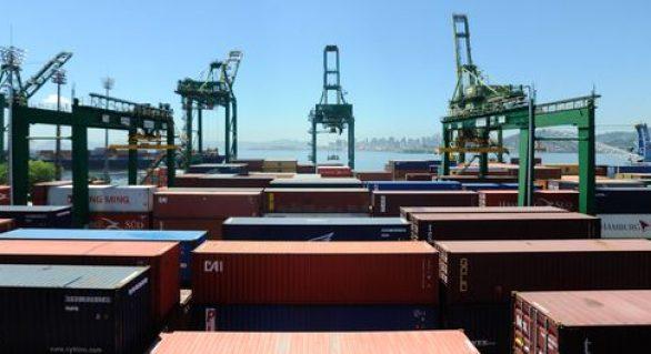 Exportações brasileiras crescem 24,4% no primeiro trimestre