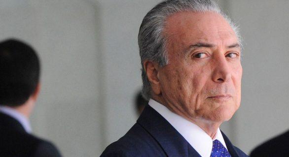 Temer nega participação em irregularidades citadas em delação da Odebrecht