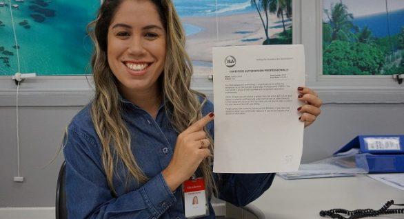 Engenheira da Braskem Alagoas torna-se primeira mulher no Brasil a conquistar certificação internacional