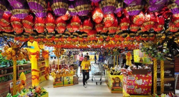 Produtos da cesta de Páscoa estão 0,36% mais caros, diz FGV
