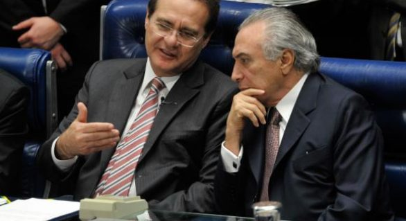 Para Renan, Governo Temer parece a seleção de Dunga