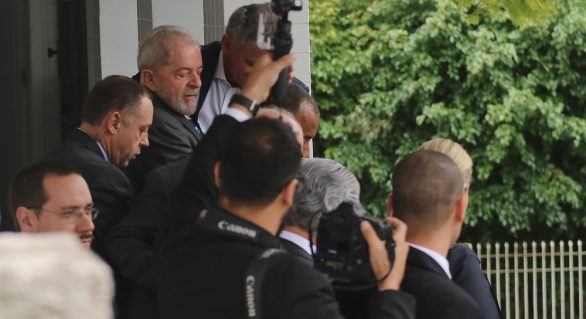 Lava Jato: Lula presta depoimento a Sérgio Moro em Curitiba
