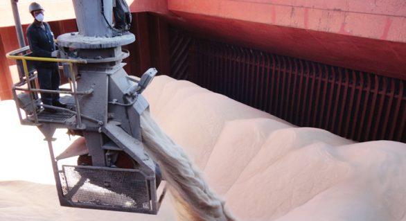 Alagoas já exportou mais de 765 mil toneladas de açúcar VHP