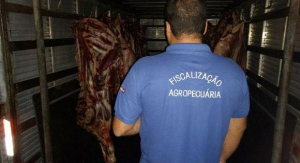 Carne de origem clandestina é apreendida em União dos Palmares