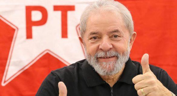 PT comemora crescimento de Lula e sugere eleição antecipada