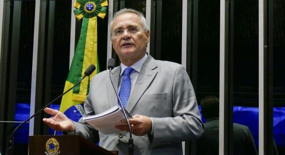 Chamar as Forças Armadas neste momento beira a insensatez, diz Renan