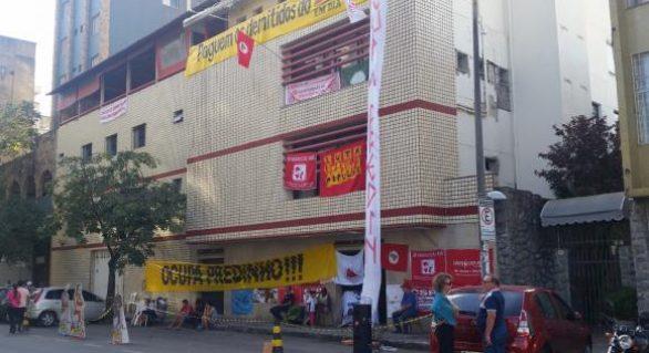 Jornalistas ocupam imóvel de jornal em BH que teria sido vendido à JBS