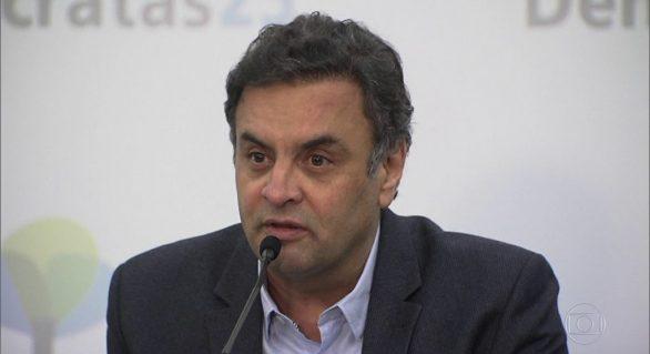 Aécio Neves pede que sua eventual prisão seja julgada no plenário do STF