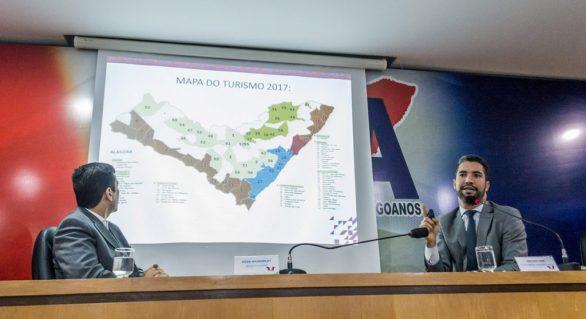 """Após """"provocação"""" de Ministério, Alagoas dobra presença no Mapa do Turismo"""
