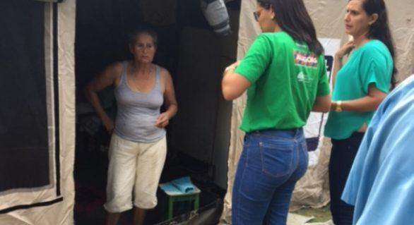 Seinfra faz levantamento de famílias atingidas pelas chuvas em Marechal