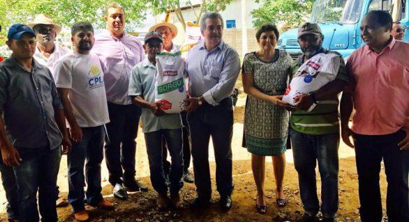 Dois mil produtores da CPLA são beneficiados com distribuição de sementes em AL