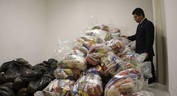 MPE/AL verifica suspeitas de irregularidades na distribuição de donativos e mantimentos em Marechal Deodoro
