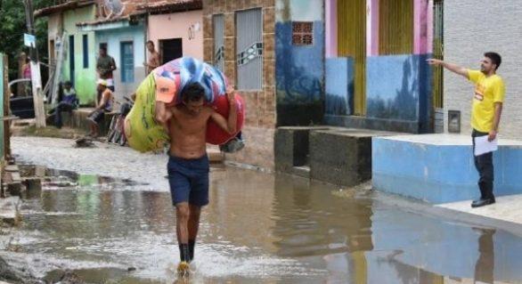 União libera R$ 2,2 milhões para áreas atingidas pelas chuvas em Maceió