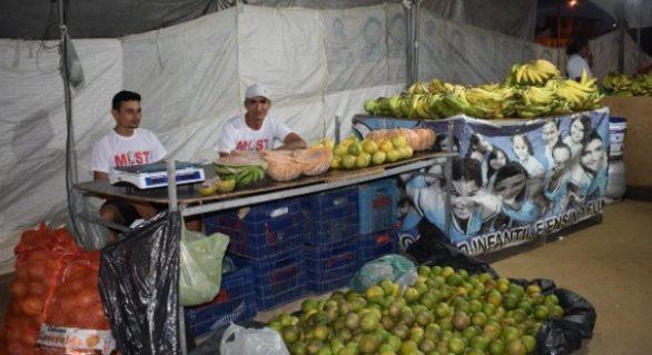 Iteral apoia Feira Agrária do MLST em Maceió