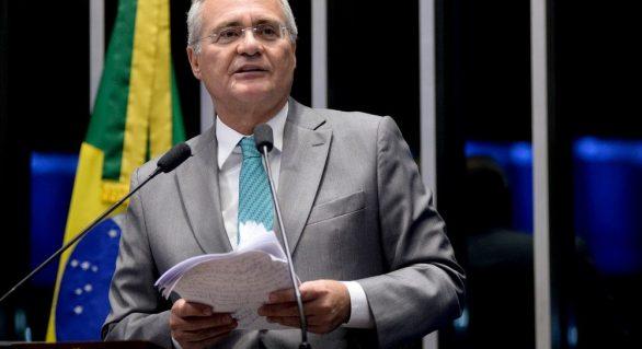 Renan deixa liderança do PMDB com críticas a Temer e diz que não serve para 'marionete'