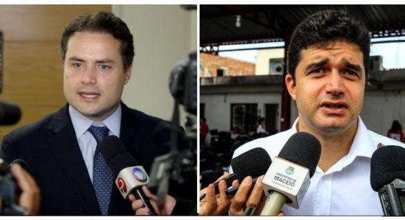 Renan Filho mantém diferença para Rui Palmeira em nova pesquisa