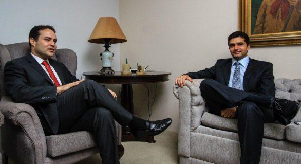 RF volta a conversar com Rui Palmeira, mas apenas no campo institucional