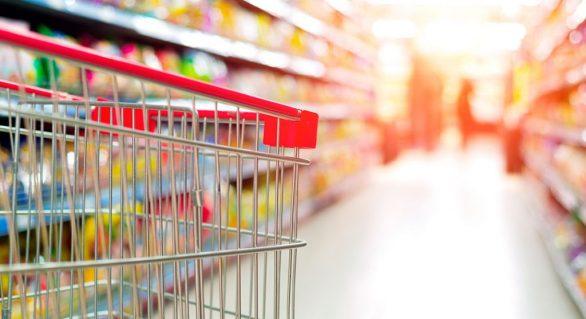 Vendas dos supermercados caem 6,96% em maio