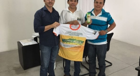 Presidente da Emater recebe Associação dos Apicultores de União dos Palmares