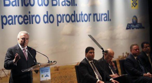 Banco do Brasil anuncia R$ 103 bilhões para Plano Safra 2017/2018