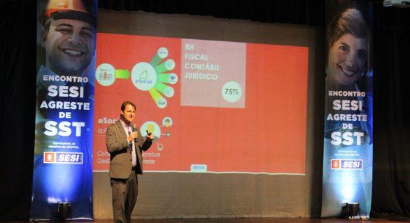 Sesi apresenta solução do e-Social a empresários do Agreste