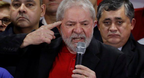"""Lula fala após ser condenado, nega crimes e diz que está """"no jogo"""""""